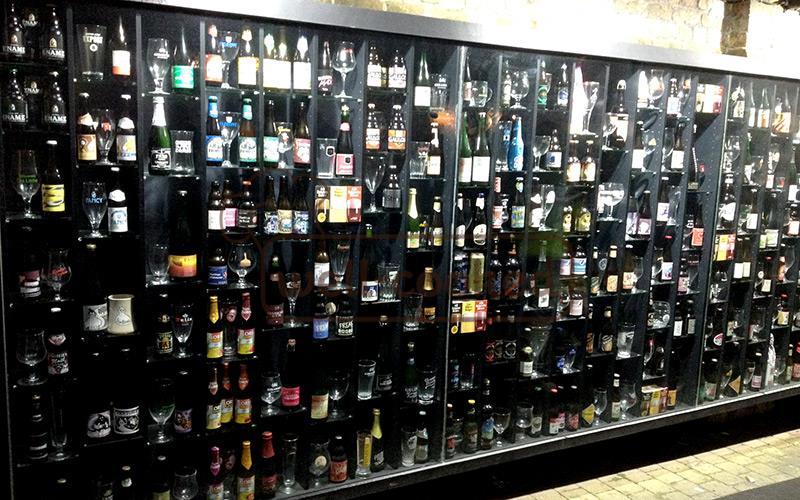 магазин-музей бельгийского пива в Брюгге