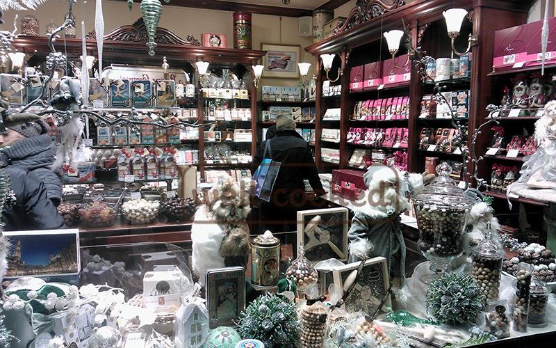 магазин шоколада в Бельгии
