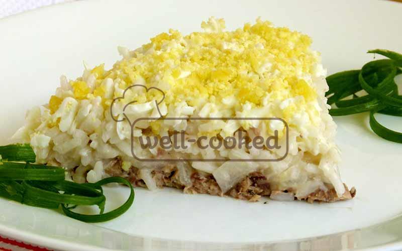 как готовить салат мимоза с фото