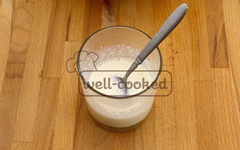 Желатин в молоке