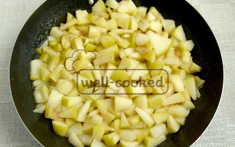 готовая яблочная начинка