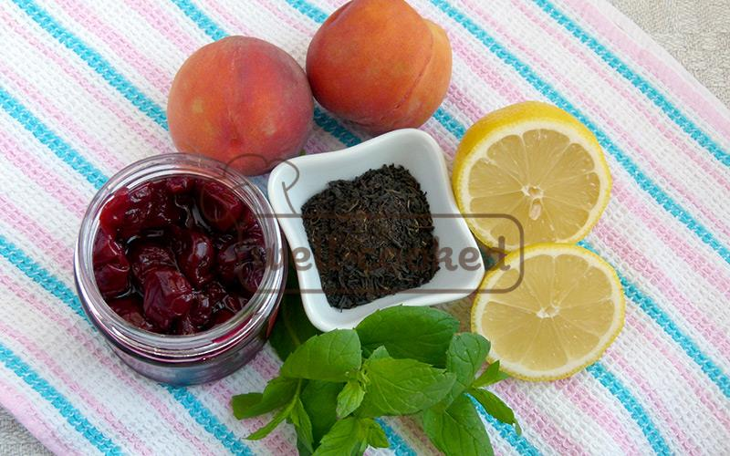 продукты для приготовления холодного чая