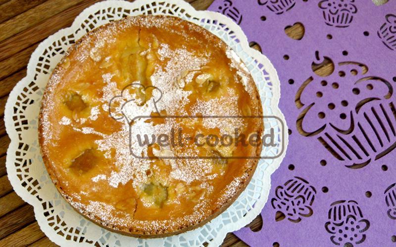 Итальянский пирог с грушей