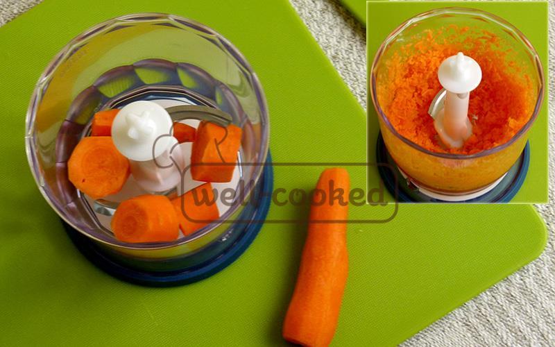Морковь в блендере