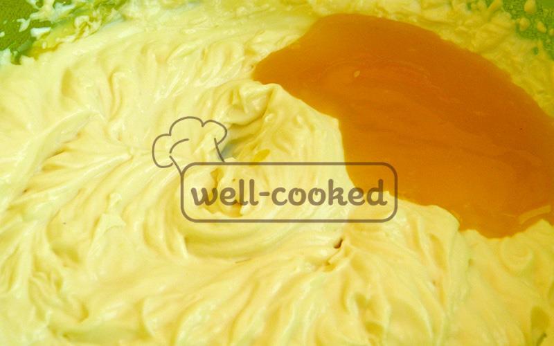 Творожно-лимонный крем