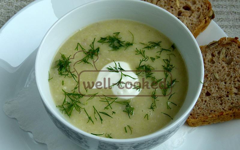 луковый суп с картофелем и шампиньонами