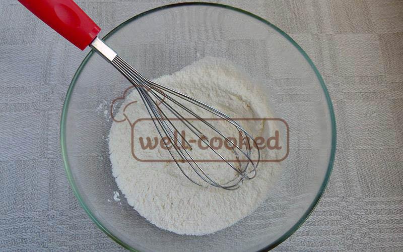 смешиваем сухие ингредиенты