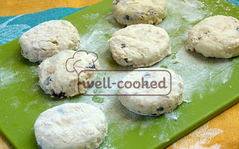 формируем печенья