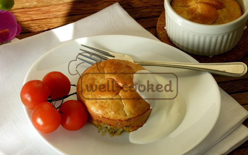 Запеканка из капусты в духовке