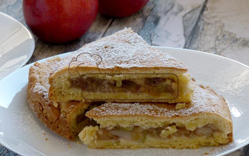 Польская шарлотка с яблоками рецепт с фото