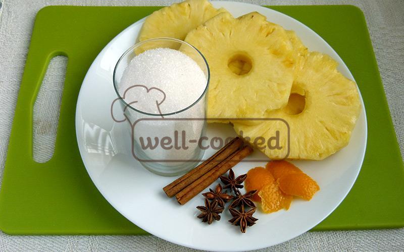 Основные ингредиенты для блюда