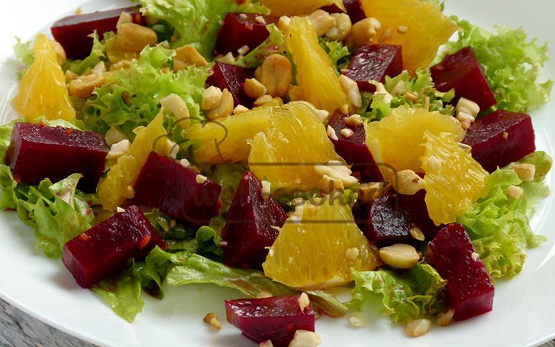 Салат апельсином рецепт с
