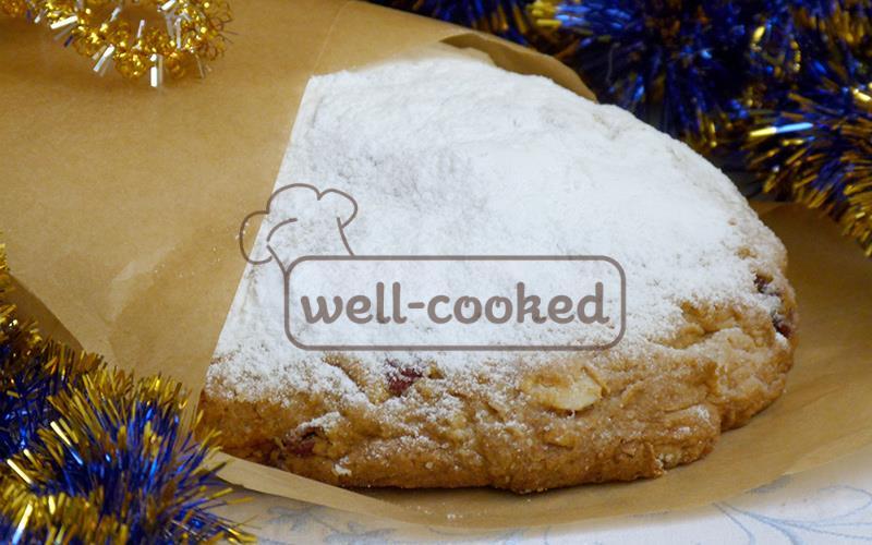 Рождественский штоллен рецепт с творогом