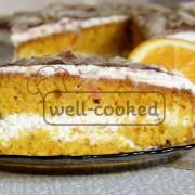 Рецепт морковного орехового торта
