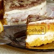 Орехово морковный торт