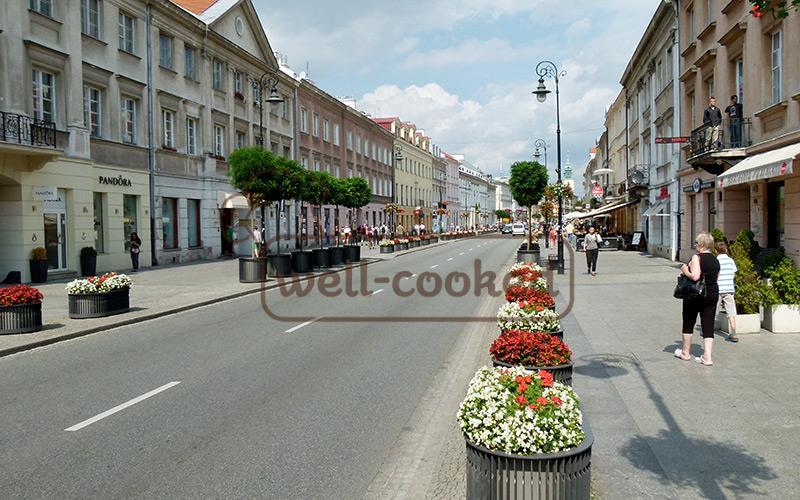 уличная еда в Польше