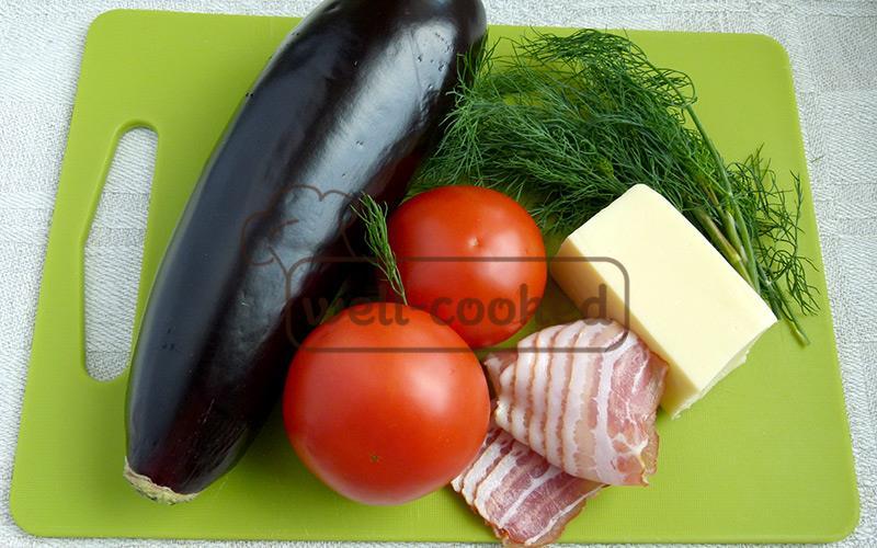 основные ингредиенты блюда