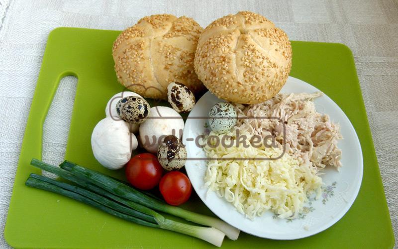 ингредиенты для завтрака