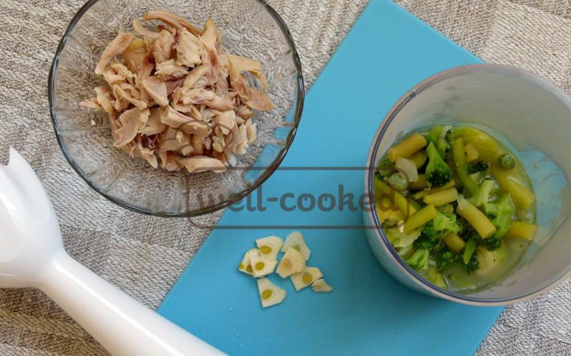 Зеленый суп рецепт с фото
